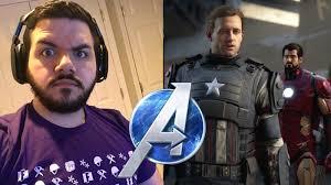 react to Marvel's Avengers game trailer ...
