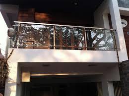 balcony glass railing manufacturer