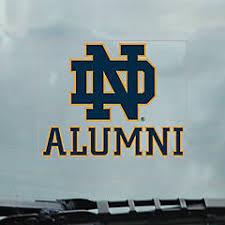 Notre Dame License Plate Frame Und Car Decals Mats Magnets