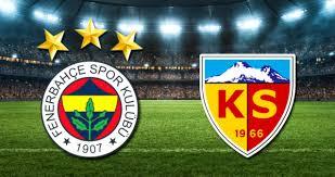 Özet   Fenerbahçe - Kayserispor Maç Sonucu 2-0