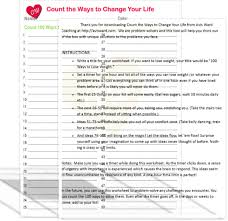Count-the-ways to change and improve your life with this complimentary  tool. Count-the-ways and you can exceed 100! Courtesy of Avis W… | Improve  yourself, Counting