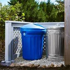 Hide Those Ugly Garbage Cans With A Diy Privacy Screen