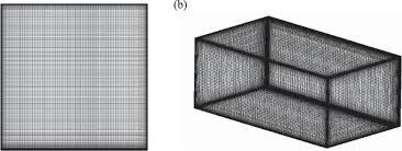 Uniform Growth Mesh For A A 2d Model B A 3d Model Download Scientific Diagram