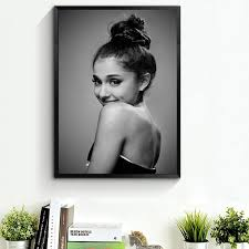Unframed Printed Poster Ariana Grande Canvas Modern Oil Art Painting Home Wall Decal Photo 50 X 70 Cm Wish