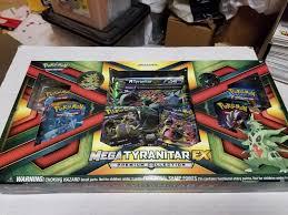 Pokemon TCG Mega Tyranitar EX Premium Collection Box NEW