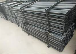 600mm Star Picket Y Post For Construction Temporary Fence 2100mmx2400mm