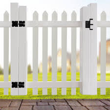 Azembla 3 6 Ft H X 4 Ft W Vinyl Fencing Wayfair