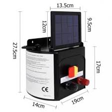 Solar Power Electric Fence Energiser Charger Jwg Gear