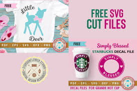 Free Starbucks Svg Decal Simply Blessed Free Pretty Things For You