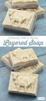 diy layered oatmeal soap recipe atta