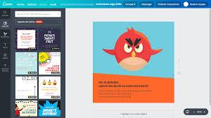 Disena Invitaciones De Angry Birds Online Gratis Canva