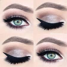 winter themes eye makeup looks