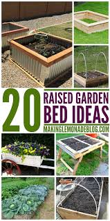20 brilliant raised garden bed ideas