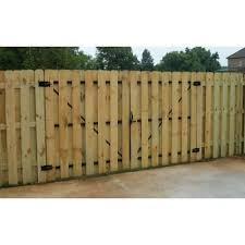 Dura Gate 12 Ft Double Fence Gate Frame Kit 007 1403 The Home Depot Backyard Fences Cheap Fence Front Yard Fence