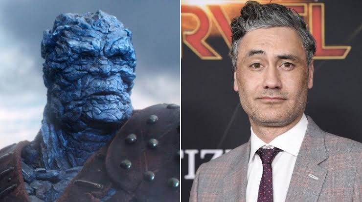 Taika Waititi voices Korg in the MCU