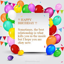 happy birthday wishes for ex lover touching birthday message for