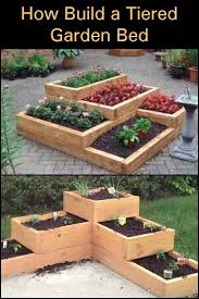 this tiered garden bed is a great
