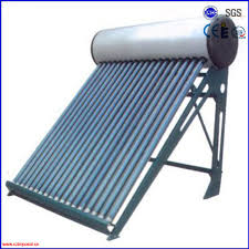 vacuum solar hot water heater