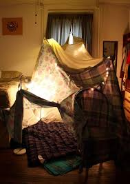 Indoor Sheet Fort These Were My Favorite As A Kid Brogie Will Have One All The Time I Am Already Saving My Old Sheets Blanket Fort Childhood My Room