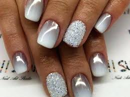 nexgen nails for busy women sparkly