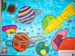 Воспитанники детского дома в Астане подготовили рисунки ко Дню ...