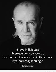 George Carlin quotes hd | George carlin, Individuality quotes, Hd ...