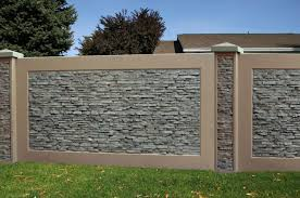 Marvelous 9 Interesting Fence Design Ideas To Make Your Home More Elegant Https Bosidolot Com 2018 1 Fence Wall Design Exterior Wall Design Photo Wall Design