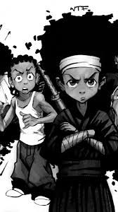 the boondocks wallpapers top free the
