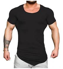 men s workout shirts short sleeve gym
