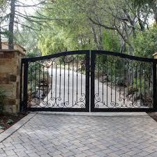 Wrought Iron Driveway Gates Houzz
