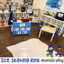 ice rink dramatic play for pre