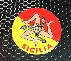 Sicilia Sicily Proud Flag Domed Decal Car Emblem Flexible 3d 2 5 Round Crest Ebay