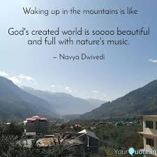 god s created world is so quotes writings by navya dwivedi