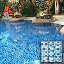 whole clear glass mosaic