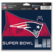 New England Patriots Car Decals Bumper Stickers Patriots Window Sticker Proshop Patriots Com