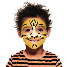 tiger face paint guide follow our 3