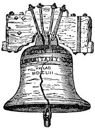 Image result for free liberty bell drawing