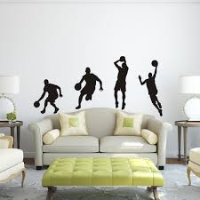 Basketball Player Dribble Dunk Sequence Michael Jordan Sticker Graphics Wall Decal Wall Sticker Boy Bedroom Decor 64 H X 32 W Bedroom Decor Stickers Boymichael Jordan Sticker Aliexpress