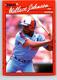 Amazon.com: 1990 Donruss #570 Wallace Johnson Mint Baseball MLB Expos:  Collectibles & Fine Art