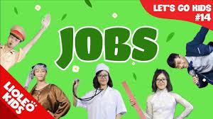 Bé học tiếng Anh về nghề nghiệp | [Trọn bộ 20 chủ đề từ vựng sách Let's go]  [Lioleo Kids] - YouTube