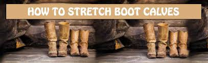 how to stretch boot calves my bootprint