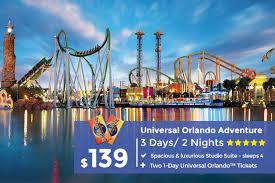 universal orlando resort tickets from 139