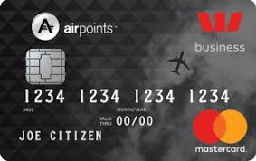 westpac airpoints business mastercard