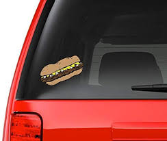 Amazon Com Philly Cheesesteak Full Color Art Vinyl Auto Decal Sticker Or Any Smooth Surface Philadelphia Everything Else