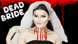 dead bride makeup tutorial