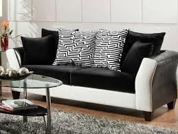 black sofa set kosmo pearl three seater