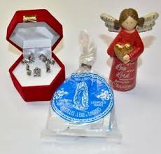 catholic gift set lourdes holy water