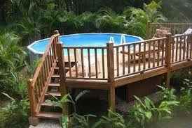 If You Are Looking For A Way To Spruce Up Your Backyard And Give New Meaning To The Term Pool Party T In 2020 Decks Around Pools Small Above Ground Pool