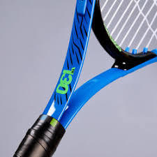 kids quote tennis racket tr blue