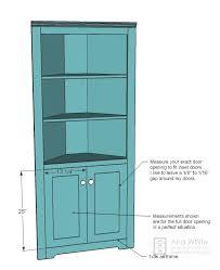 corner cupboard diy cupboards